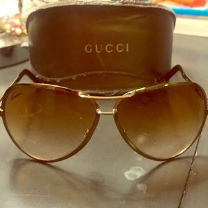 Gucci aviator shades 100% Authentic